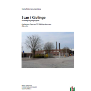 Framsidan på Malmö kulturmiljöers rapport från 2008